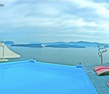 Inspiring picture santorini, beautiful, love, instagram, honeymoon. Resolution: 500x231 px. Find the picture to your taste!