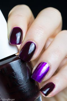 OPI - Purple Perspective |  | OPI Color Paints | May 2015 | The depth of this purple is mesmerizing.