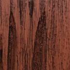 3 in. x 6 in. Garage Door Composite Material Sample in Pecky Cypress Species with Dark Finish