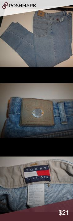 """Tommy Hilfiger 31 x 32 Men's Jeans Some wear, but in good condition.  32"""" long. Tommy Hilfiger Jeans Straight"""
