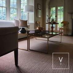"""[ Earthy Tones for Pretty Homes ] """"Nature is not a place to visit it is home."""" At least it is for this family in Cincinnati who went for our natural rhombus weave with copper fibers. A beautiful grand rug for a naturally stunning home! Interior design  and photo courtesy by: @atkaia.interiors #VerdiDesign #WeavingIntoNature #Metal #NaturalFiber #Rugs #Copper #Handmade #MadeInColombia #Handcrafted #Metallic #Carpet #Textiles #Weaves #Bespoke #BespokeRug #Design #Interior #InteriorDesign #Art…"""