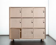Fin Lockers by Scarlett San Martin for http://opendesk.cc