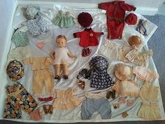 1920s-HUGE-LOT-Effanbee-Patsy-Pat-Pend-Doll-Composi-MANY-RARE-Extras-52-Pieces