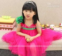 Wholesale baby wedding dresses dress summer dresses for girls pageant dresses girls little party dresses, Free shipping, $13.46-16.8/Piece   DHgate
