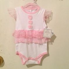 I just discovered this while shopping on Poshmark: Brand New Baby Girl clothes. Check it out!  Size: 9m