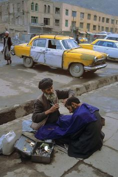 Attention Land of the Free ??? Street Barber. Afghanistan no permit or license. Take it or leave it barter trade tell your friends there is your regulation... Word of mouth! Real liberty.