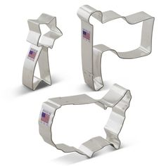 Ann Clark Independence Day Patriotic Cookie Cutter Set -- Hurry! Check out this great sales : Baking Accessories