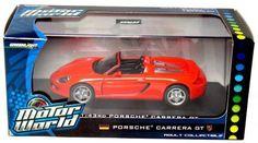Motor World; 1:43rd Scale Porsche Carrera GT