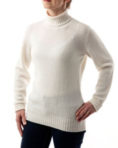 Winter & Bract's 2-Ply Turtle Neck (in 'Glacier').  Born in Wyoming, Made in Scotland - only the world's finest 100% Cashmere