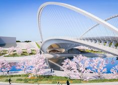 Calatrava Huashan bridges in China