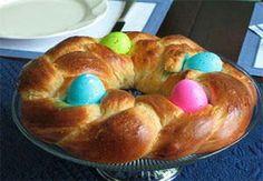 Braided Easter Bread #festfoods