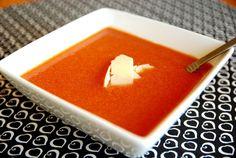 Nordstrom Tomato Basil Soup in the Crock Pot - Sugar Mama Cooks