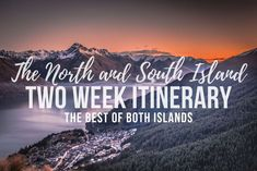 A 2 week road trip itinerary for New Zealand's North and South Island showcasing the best hikes, the photography spots, activities and the best route to take to optimise your time in New Zealand. Driving In New Zealand, New Zealand Winter, New Zealand Itinerary, New Zealand Adventure, New Zealand South Island, Hiking Photography, Best Hikes, Winter Travel, Travel Goals