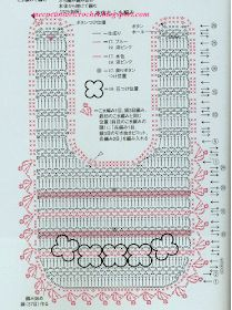 LE GATTE COI TACCHI: Schemi Bavaglini all'uncinetto Crochet Diagram, Crochet Chart, Crochet Baby Bibs, Crochet Home Decor, Baby Crafts, Baby Knitting Patterns, Baby Dress, Doll Clothes, Crocheting