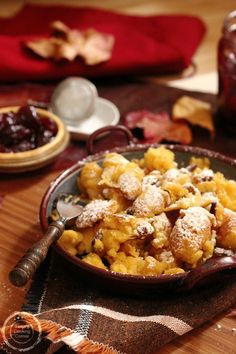 Kaiserschmarrn | Emperor's Pancakes #recipe #austrian #dessert | www.tanjascookingcorner.com