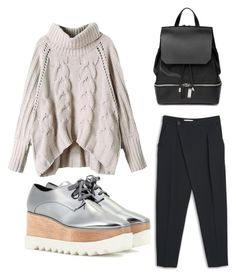 """""""Untitled #230"""" by voicuandrada on Polyvore featuring STELLA McCARTNEY, MANGO and COSTUME NATIONAL"""