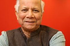 """Muhammad Yunus at The New York Times office in New York.  """"What would you say to a person who asks, 'Where should I start?'"""""""