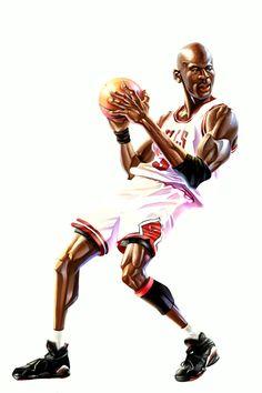 Caricaturas Michael Jordan ~ NBA TSEBA                                                                                                                                                      Más