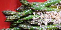 Asparagus with Pine