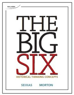 Encourage historical literacy by teaching through six interrelated concepts! Every #historyteacher can establish a thoughtful understanding of the past through this book's activities and #teachingstrategies. #historylesson #history