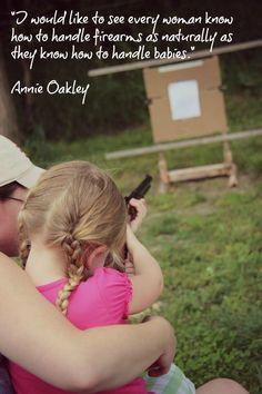Annie Oakley (Legendary) So true.
