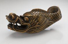 Dragon-Fish, Japan, 18th century. M.91.250.26. Raymond and Frances Bushell Collection. LACMA.