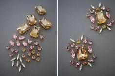DIY Jeweled Trenchcoat