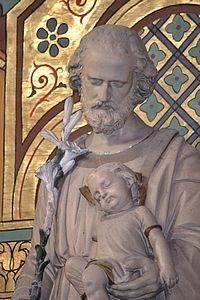 St Joseph, Mary And Jesus, Saints, Prayers, Sculpture, Statue, Infaillible, Prayer Corner, Christian Art