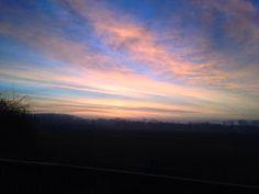 Beautiful morning to