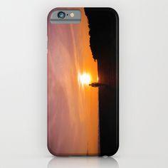 Sunset Walk iPhone Case  #sunset #beach #beautiful #woman #girl #tropical #summer #paradise #iphone