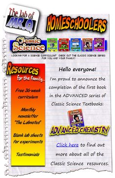 Free Life Science Curriculum for ages 6-9