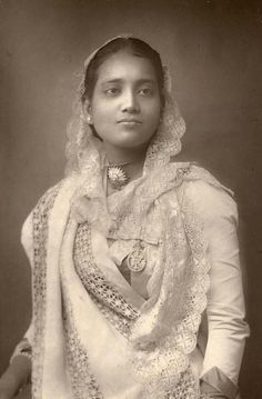 Maharani Siniti Devi of Cooch Behar, 1887