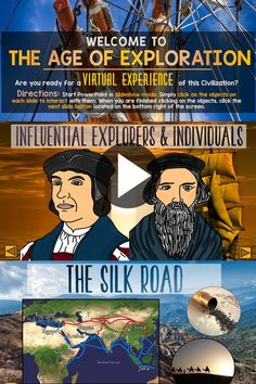 Explorers and Trade Routes - Great teaching tool for grade social studies social studies Explorers & Trading Interactive PowerPoint 7th Grade Social Studies, Social Studies Projects, Social Studies Lesson Plans, Kindergarten Social Studies, Social Studies Notebook, Social Studies Worksheets, Social Studies Classroom, Social Studies Activities, Teaching Social Studies