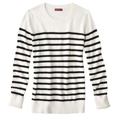 Merona Women's Long-Sleeve Crew Neck Sweater, $15