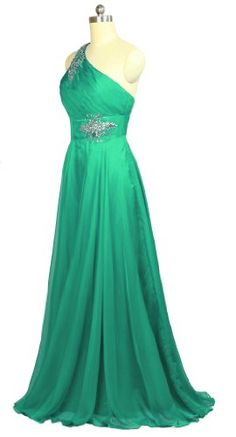 Faironly F1 Silk Chiffon Crystals One Shoulder Evening Dress Formal Gown (L, Green) FairOnly,http://www.amazon.com/dp/B00BKMPHMS/ref=cm_sw_r_pi_dp_oQcesb0D043S7FP0