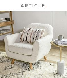 Living Room Accents, Accent Chairs For Living Room, Living Room Modern, Home Living Room, Living Room Designs, Living Room Decor, Bedroom Decor, Bedroom Ideas, Comfy Bedroom Chair