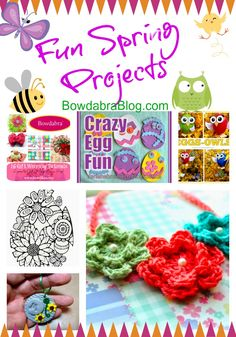 Feature Friday Fun Spring Projects