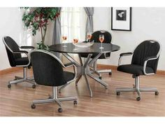 Beautiful Dining Room Chairs With Casters