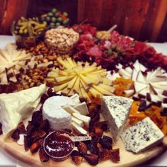 Beautiful party platter created by The Cheese Cave in Claremont.