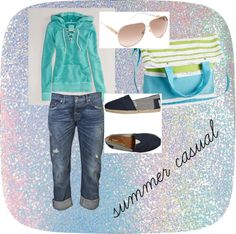 """""""casual summer outfit"""" by tina-watson-bernetic on Polyvore"""