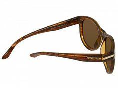 Óculos Arnette Men's Blowout Polarized Striped Havana Brown Polarized Lens #Oculos #Arnette
