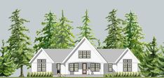 beautiful house plans with tin roofs photos house designs inside proportions 1600 x 758 auf Metal Roof Cottage House Plans Farm Cottage, Cottage House Plans, New House Plans, Cottage Homes, House Floor Plans, Master Bedroom Plans, Gable House, Beautiful House Plans, Beautiful Homes