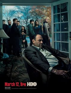 the sopranos. ugh, another amazing actor gone. : (