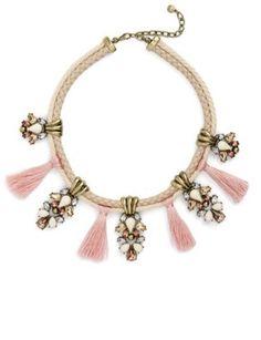 Shop Now - >  https://api.shopstyle.com/action/apiVisitRetailer?id=657738889&pid=uid6996-25233114-59 Women's Baublebar Repunzel Collar Necklace  ...