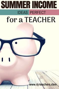 If you are looking for a new way to earn this summer, or to start an income stream that can carry over into the school year, we've identified some traditional, and some not-so-traditional options for teachers to explore.