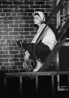 """My huckleberry friend, Moon River and me...""   Audrey Hepburn, Breakfast at Tiffany's"