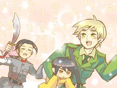 Mommy is coming for you~ -Hongkong<<< IM NOT A GIRL ARU- China probably