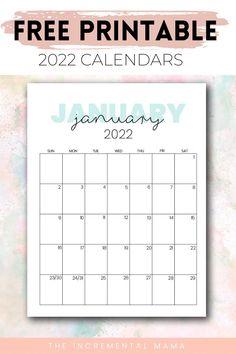 Printable Monthly Calendar, Free Calendar Download, Free Printable Calendar Templates, Monthly Calendars, Free Printables, Calendar Journal, Planning Calendar, Calander, Journal Template