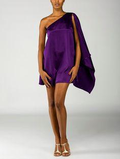 party dress in purple!