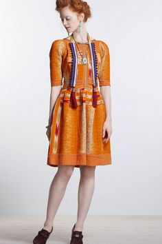 FLIPPIN' OUT LOVIN' THIS DRESS!!!    Vanga Vintage Kantha Dress  Online Exclusive  STYLE # 25249780